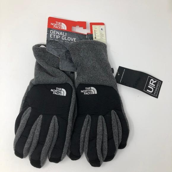 1eb69cc9c NEW The North Face Denali ETIP Fleece Gloves XL NWT